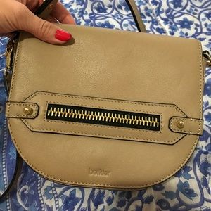 Botkier nude classic crossbody with metal accents